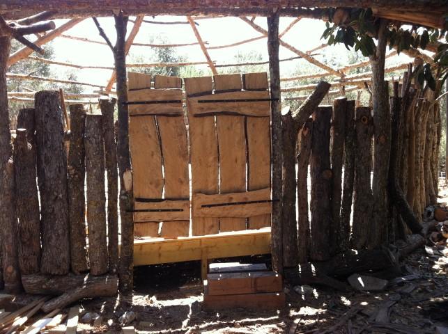 סטודיו ליוגה - דלת מקורית