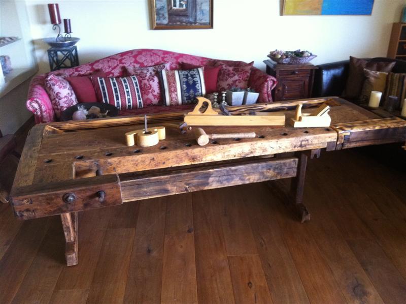 שולחן נגרות לסלון